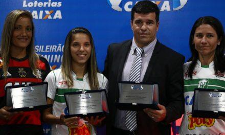 Campeão Flamengo tem técnico e artilheira premiados pela CBF