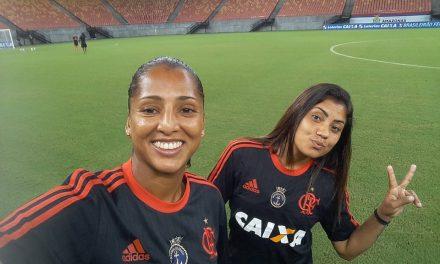 Flamengo/Marinha: zagueira também é convocada para a Seleção Brasileira