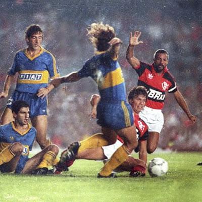 1991: Flamengo x Boca Juniors (Argentina)