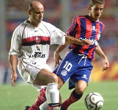 2001: Flamengo x San Lorenzo (Argentina)