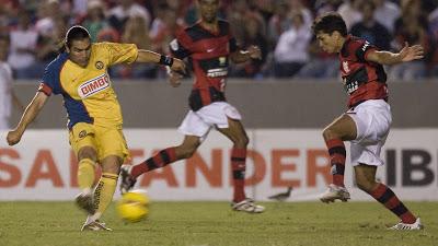 2008: Flamengo x América (México)