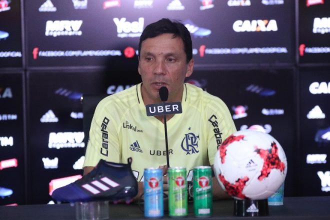 Zé Ricardo diz não esperar facilidade contra o Botafogo