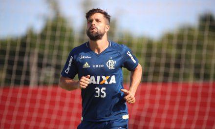 Poupado: Diego fica de fora do jogo contra o Coritiba