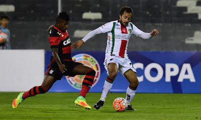 2016: Flamengo x Palestino (Chile)