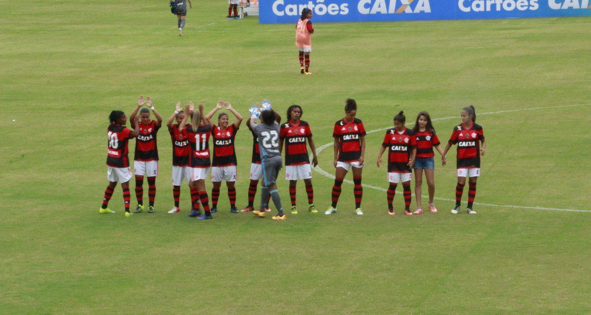 Larissa marca, e Flamengo/Marinha vence a segunda no Brasileirão Feminino 2017