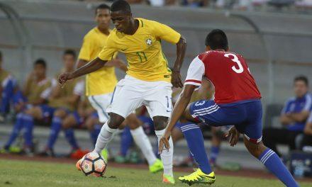 Com rubro-negros, Brasil sub-17 inicia briga por título e vaga no Mundial