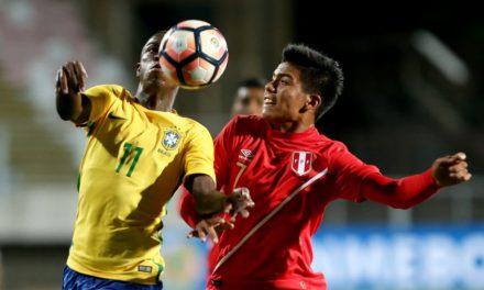 Golaço de Vinicius Jr. classifica Brasil para a segunda fase no sub-17