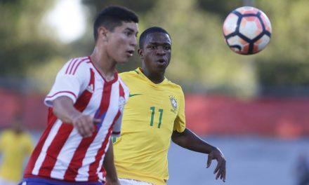 Destaque na seleção sub-17, Vinicius Jr. é elogiado por Zé Ricardo