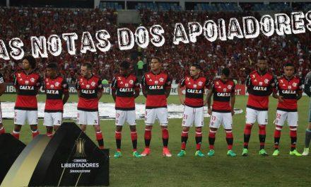 As notas dos apoiadores   Flamengo 3 x 1 U. Católica