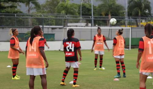 Brasileiro Feminino: Flamengo/Marinha enfrenta o Santos nessa terça-feira