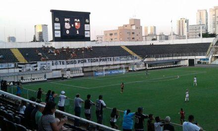 De virada, Flamengo/Marinha perde para o Santos no Brasileiro Feminino