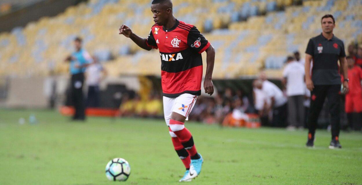 A semana de Vinicius Junior no Flamengo