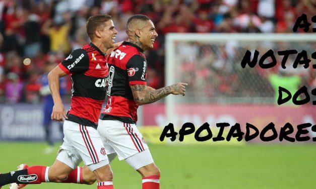 As notas dos apoiadores | Flamengo 2 x 0 São Paulo – Campeonato Brasileiro 2017