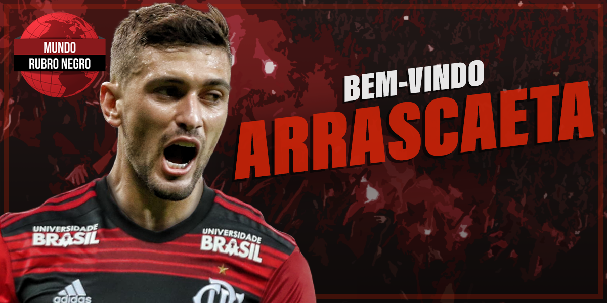 Arrascaeta chega ao Rio para fechar com Flamengo