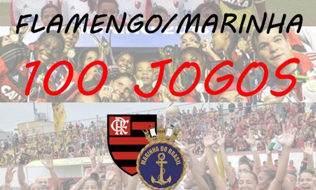 Flamengo/Marinha chega à marca de 100 jogos disputados