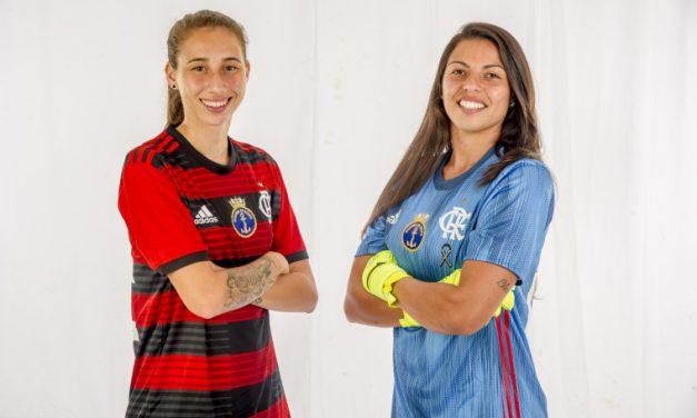 Flamengo/Marinha anuncia contratações de Bruna Rosa e Gabrielli Croco