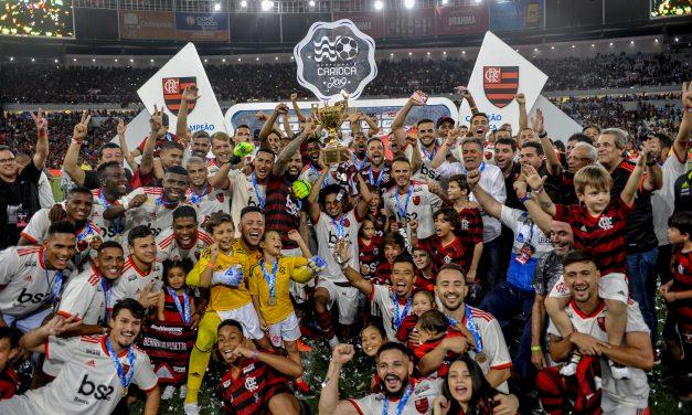 Além do título, Flamengo conquista a maior invencibilidade sobre o Vasco no confronto: são 12 jogos sem perder
