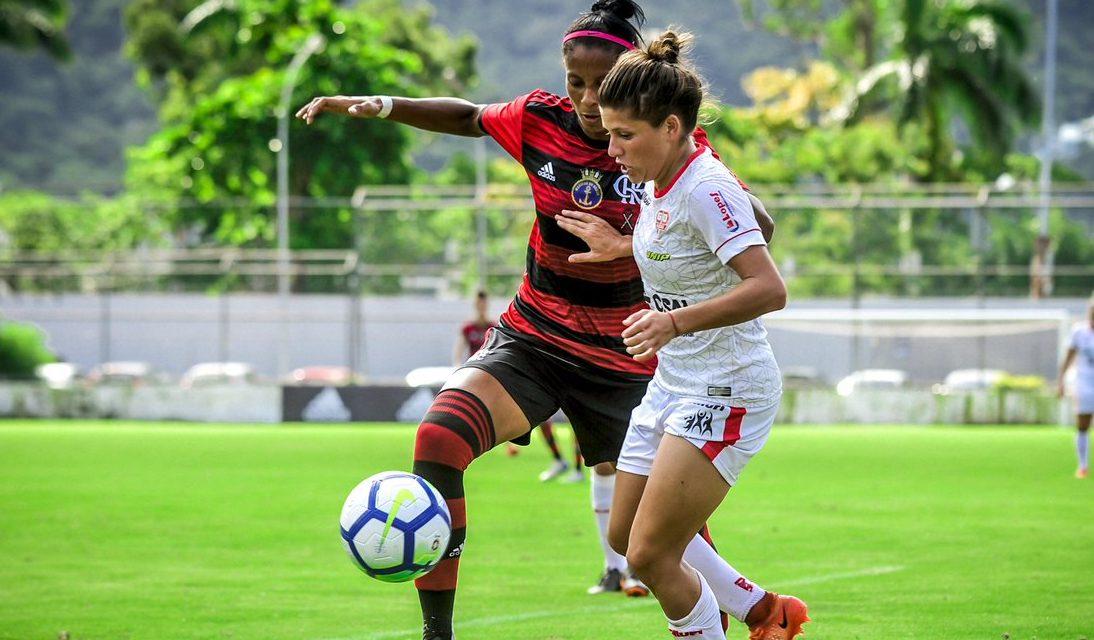 Com gol de Raiza, Flamengo/Marinha mantém 100% e liderança no Brasileiro Feminino