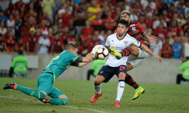 Em última Libertadores que disputou, LDU perdeu duas partidas em casa na fase de grupos