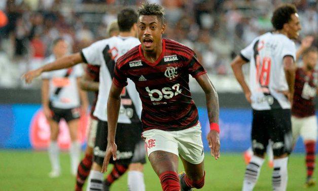Vasco 0 x 2 Flamengo e o incrível e inédito feito de Bruno Henrique