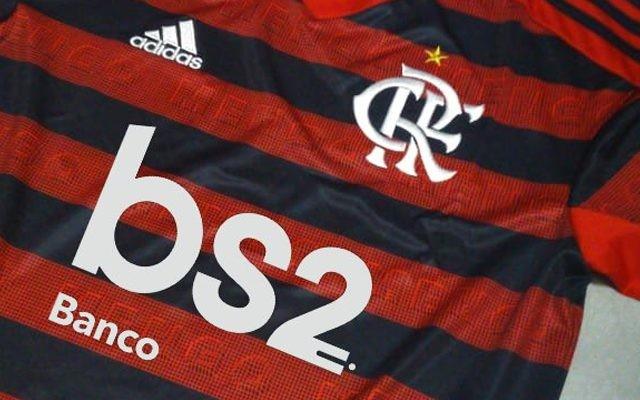 Novo patrocinador master, BS2 estará estampado na camisa do Fla contra o Peñarol