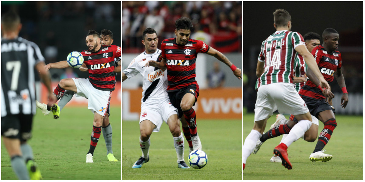 Na era dos pontos corridos, Flamengo tem ampla vantagem sobre rivais cariocas em número de pontos