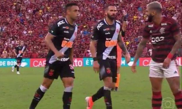 Em live no Instagram, Cuéllar e Gabigol se divertem relembrando lance de Werley e Castan