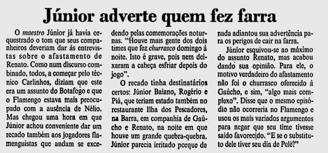 junior maestro 1992