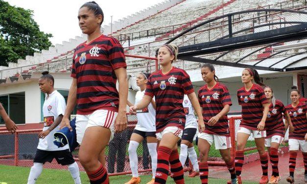 Saindo atrás do marcador, Flamengo/Marinha arranca empate na Gávea