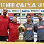 """""""Eu gosto de assistir o Franca jogar"""", diz Gustavinho, na véspera do jogo 1 da finais do NBB 11"""