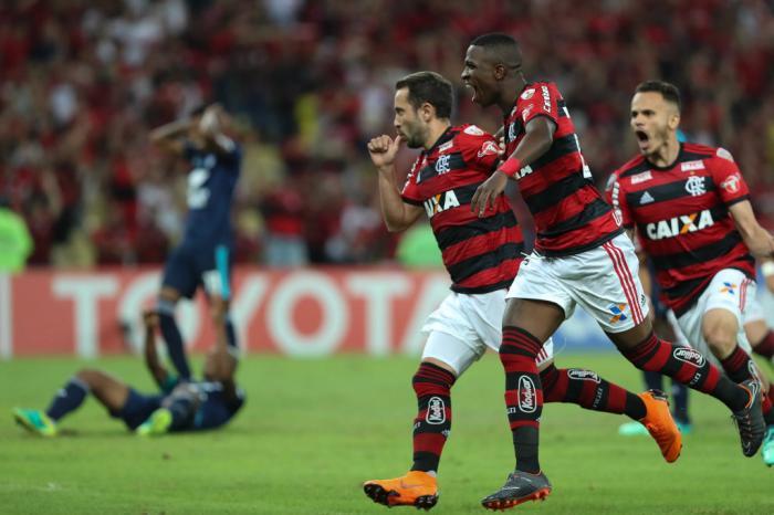 Emelec é o adversário que mais enfrentou o Flamengo na Libertadores no Século XXI