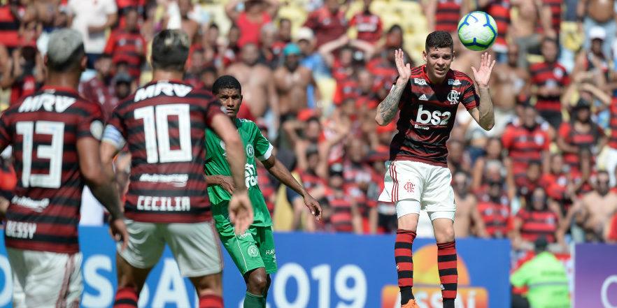flamengo chapecoense brasileirão 2019