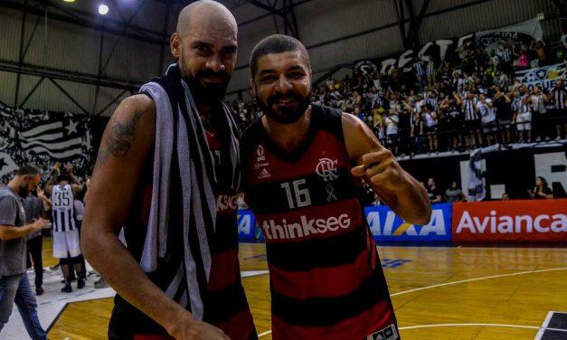 Marquinhos e Olivinha formam a dupla mais vencedora do Flamengo e da história do NBB