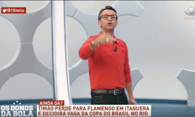 """""""Se o Flamengo fosse mais ousado teria sido 7 a 0"""", diz ídolo do Corinthians"""