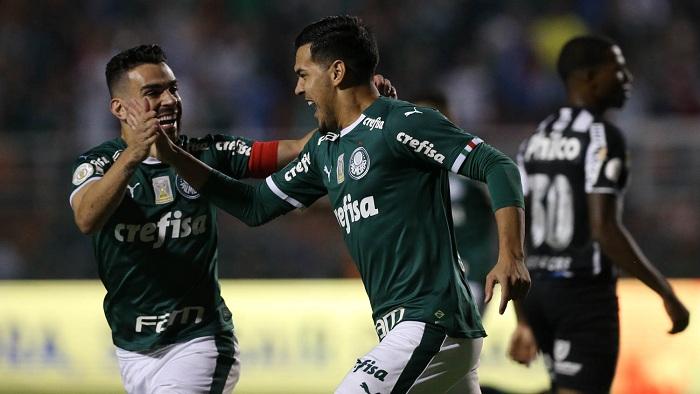 Palmeiras 4×0 Santos – e onde está o Flamengo?