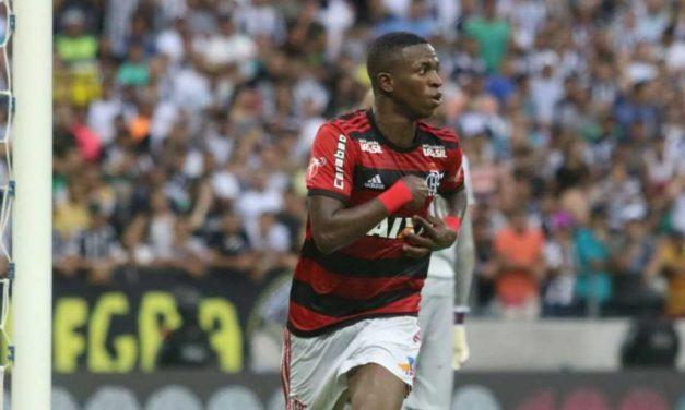 Após três rodadas, Flamengo era líder no Brasileirão de 2018
