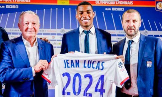 Lyon confirma contratação de Jean Lucas