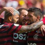 Flamengo 6×1 Goiás: Notas dos jogadores do Flamengo