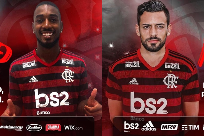 Oficializados, Gerson e Marí chegam ao Rio neste sábado